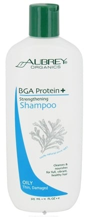 DROPPED: Aubrey Organics - BGA Protein + Strengthening Shampoo - 11 oz. CLEARANCE PRICED