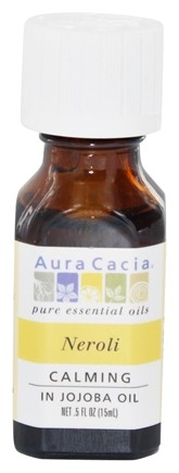DROPPED: Aura Cacia - Essential Oil Calming Neroli in Jojoba - 0.5 oz.