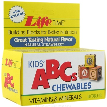 DROPPED: LifeTime Vitamins - Kids' ABC's Chewable - 60 Tablets