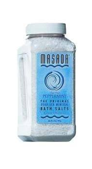 DROPPED: Masada - Dead Sea Mineral Bath Salts, Peppermint & Tea Tree - 2 lbs.