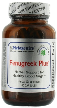 DROPPED: Metagenics - Fenugreek Plus - 60 Capsules CLEARANCE PRICED