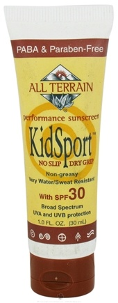 DROPPED: All Terrain - KidSport Performance Sunscreen 30 SPF - 1 oz. CLEARANCE PRICED