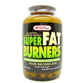 DROPPED: Action Labs - Super Fat Burners - 200 Capsules