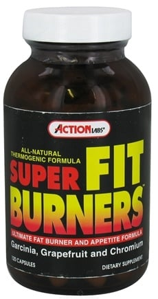 DROPPED: Action Labs - Super Fat Burners - 120 Capsules CLEARANCE PRICED