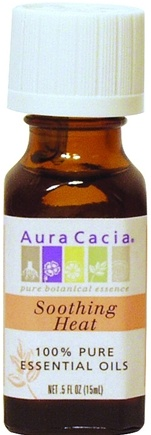 DROPPED: Aura Cacia - Essential Oil Blends Soothing Heat - 0.5 oz. CLEARANCE PRICED