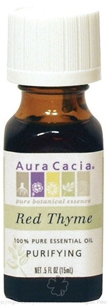 DROPPED: Aura Cacia - Essential Oil Purifying Red Thyme - 0.5 oz. CLEARANCE PRICED