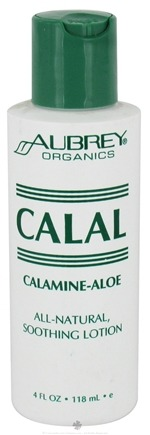 DROPPED: Aubrey Organics - Calal Calamine & Aloe All Natural Soothing Lotion - 4 oz. CLEARANCE PRICED