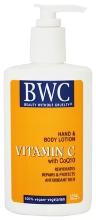 DROPPED: Beauty Without Cruelty - Vitamin C Hand & Body Lotion with CoQ10 - 8.5 oz.