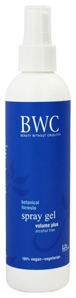 Beauty Without Cruelty - Volume Plus Spray Gel - 8.5 oz.