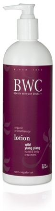 DROPPED: Beauty Without Cruelty - Lotion Hand & Body Treatment Wild Ylang Ylang - 16 oz. CLEARANCE PRICED