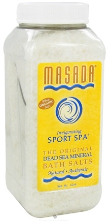 DROPPED: Masada - Dead Sea Mineral Bath Salts Sport Spa - 2 lbs. CLEARANCE PRICED