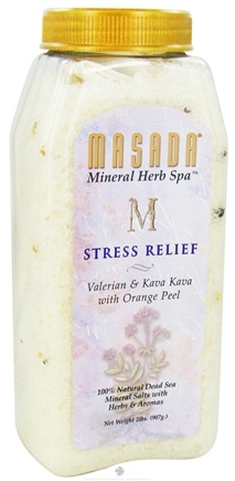 DROPPED: Masada - Dead Sea Mineral Herb Spa Salts Stress Relief - 2 lbs.