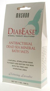 DROPPED: Masada - Diabease Bath Therapy Salt Soothing Lavender - 7 oz.