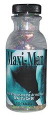 DROPPED: Maximum International - Maxi-Man - 180 Tablets