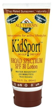 DROPPED: All Terrain - KidSport Sunscreen 30 SPF - 3 oz. CLEARANCE PRICED