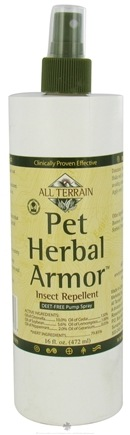 DROPPED: All Terrain - Pet Herbal Armor Insect Repellent Spray - 16 oz. CLEARANCE PRICED