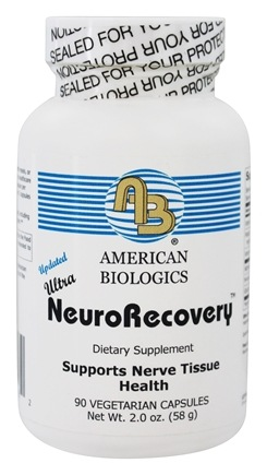 American Biologics - Ultra Neurorecovery - 90 Capsules