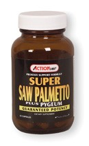 DROPPED: Action Labs - Super Saw Palmetto Plus - 100 Capsules