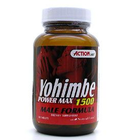 DROPPED: Action Labs - Yohimbe Power Max 1500 - 30 Capsules