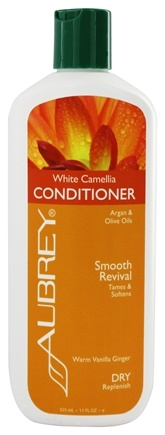 Aubrey Organics - Conditioner White Camellia Smooth Revival Warm Vanilla Ginger - 11 oz.
