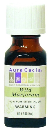 DROPPED: Aura Cacia - Essential Oils Wild Marjoram (Thymus Mastichina) - 0.33 oz.