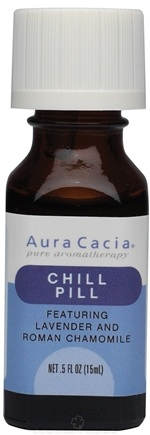 DROPPED: Aura Cacia - Essential Solutions Chill Pill - 0.5 oz. CLEARANCE PRICED