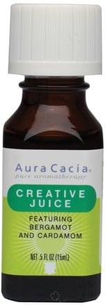 DROPPED: Aura Cacia - Essential Solutions Creative Juice - 0.5 oz. CLEARANCE PRICED