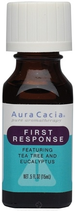 DROPPED: Aura Cacia - Essential Solutions First Response - 0.5 oz. CLEARANCE PRICED
