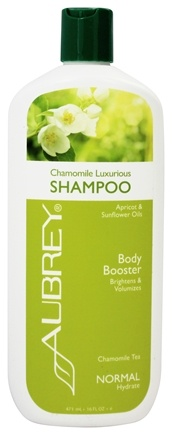Aubrey Organics - Shampoo Luxurious Body Booster Chamomile Tea - 16 oz.
