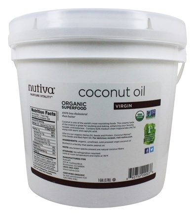 Nutiva - Coconut Oil Organic Extra Virgin - 1 Gallon