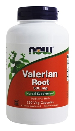 NOW Foods - Valerian Root 500 mg. - 250 Capsules