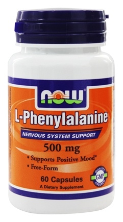 DROPPED: NOW Foods - L-Phenylalanine 500 mg. - 60 Capsules