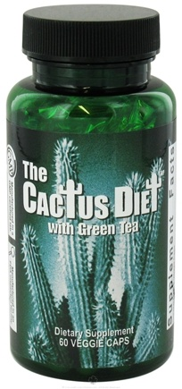 DROPPED: Maximum International - The Cactus Diet - 60 Vegetarian Capsules