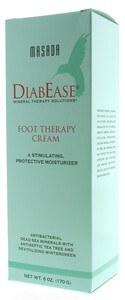 DROPPED: Masada - Diabease Foot Therapy Cream Foot Cream - 6 oz. CLEARANCE PRICED