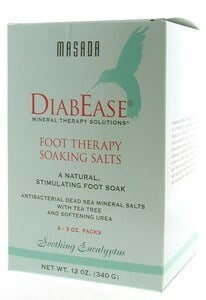 DROPPED: Masada - Diabease Foot Therapy Salt Soothing Eucalyptus - 4 Pack(s)