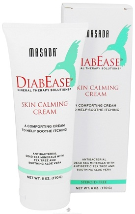 DROPPED: Masada - Diabease Skin Calming Cream - 6 oz. CLEARANCE PRICED