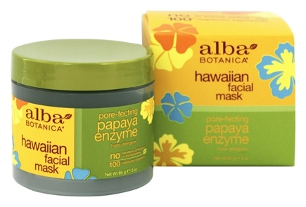 Alba Botanica - Alba Hawaiian Facial Mask Papaya Enzyme - 3 oz.