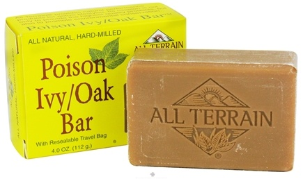 DROPPED: All Terrain - Poison Ivy Bar - 4 oz. CLEARANCE PRICED