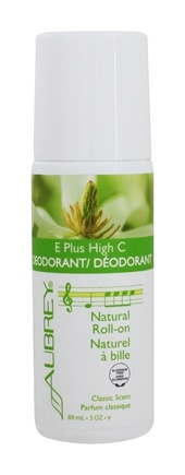 Aubrey Organics - E-Plus High C Natural Roll On Deodorant - 3 oz.