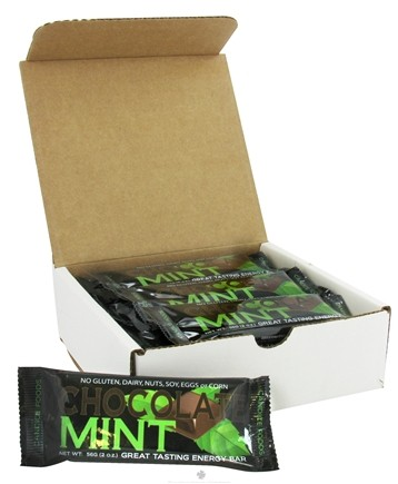 DROPPED: Candice Foods - Energy Bar Chocolate Mint - 2 oz.