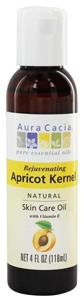 Aura Cacia - Natural Skin Care Oil Apricot Kernel - 4 oz.
