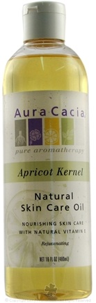 DROPPED: Aura Cacia - Natural Skin Care Oil Apricot Kernel - 16 oz.