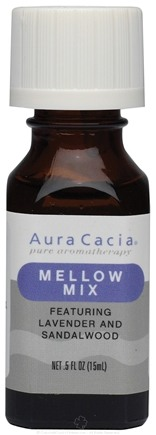 DROPPED: Aura Cacia - Essential Solutions Mellow Mix - 0.5 oz. CLEARANCE PRICED