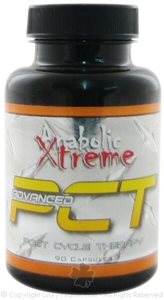 DROPPED: Anabolic Xtreme - Advanced PCT (Post Cycle Therapy) Testosterone Accelerator - 90 Capsules CLEARANCE PRICED