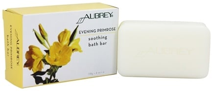 DROPPED: Aubrey Organics - Evening Primrose Soothing Bath Bar - 4 oz.