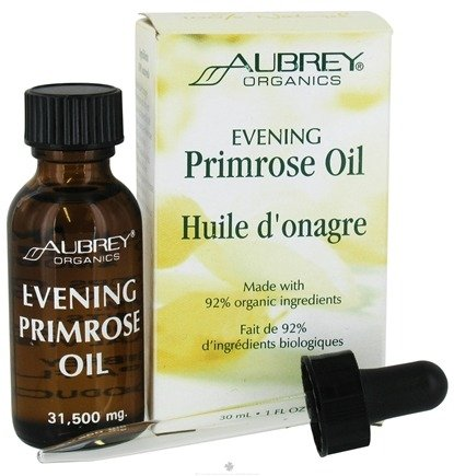 DROPPED: Aubrey Organics - Evening Primrose Oil - 1 oz.