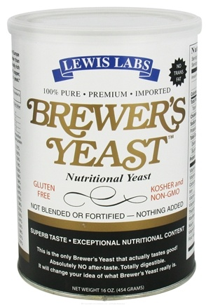 DROPPED: Lewis Labs - Brewer's Yeast Nutritional Yeast - 16 oz.