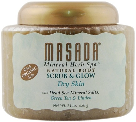 DROPPED: Masada - Mineral Body Scrub Dry Skin - 24 oz.