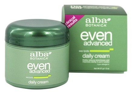 Alba Botanica - Alba Even Advanced Sea Lipids Daily Cream - 2 oz.