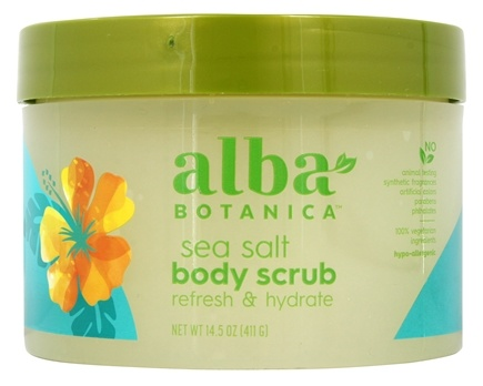 Alba Botanica - Alba Hawaiian Body Scrub Sea Salt - 14.5 oz.